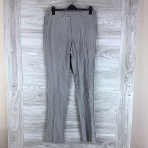 Perry Ellis Portfolio Striped Suit Pants